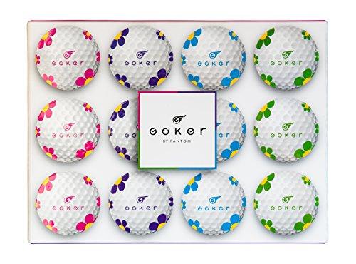 Goker Daisy Ladies Golf Balls (1 Dozen) by Goker