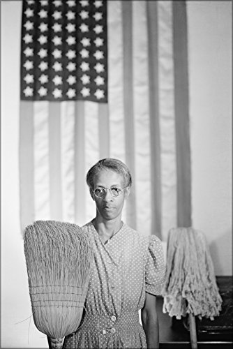 16x24 Poster; Gordon Parks' American Gothic. Portrait Of Government Cleaning Woman Ella Watson. 1942 (Park Government)