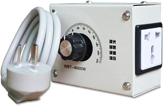 BIlinli WBT-4000W 220V Regulador de Voltaje Variable controlable ...