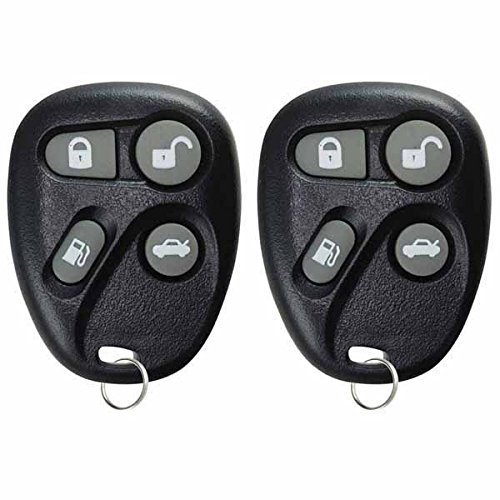 Cadillac Seville Keyless Entry (KeylessOption Keyless Entry Remote Car Key Fob Replacement for Cadillac ABO1602T (Pack of 2))