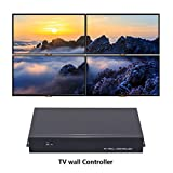 TV splice box 2x2 HDMI Video Wall Processor TV wall Controller Support1080P