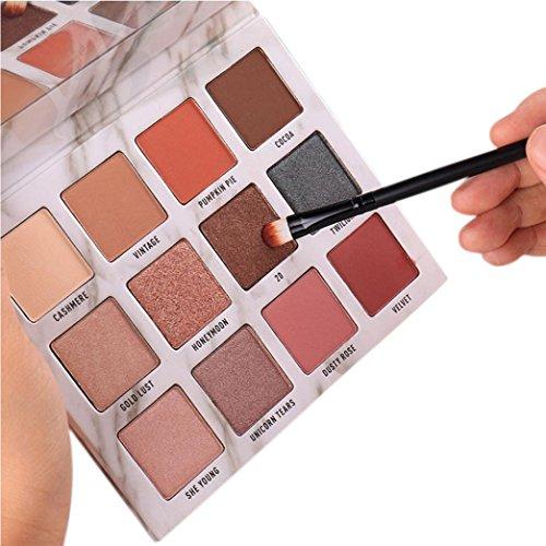Inkach Eyeshadow Palette - 12 Colors Makeup Palette Set Eye-