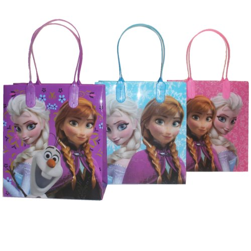 Disney Frozen Party Favor Goodie Small Gift Bags 12 -
