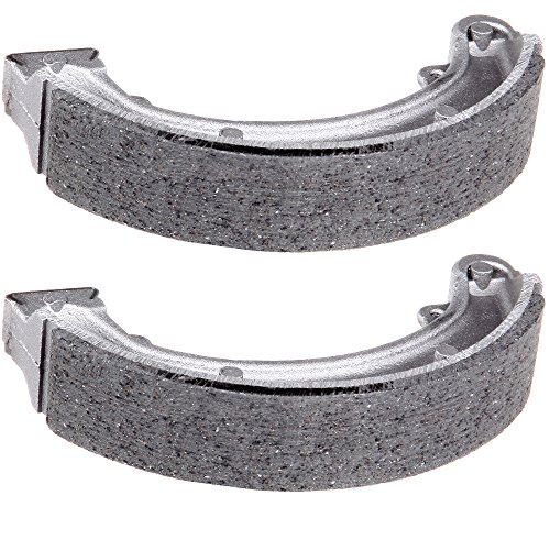 SCITOO High Performance Brake Shoes Fit 85 86 87 Honda ATC250SX 85 86 87 Honda Big 85 86 87 88 89 90 91 92 93 94 95 96 97 98 99 00 Honda FourTrax ()