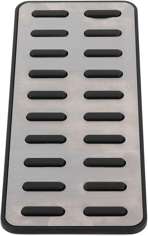 cciyu Metal Aluminum Fuel Sports Pedal Full Set Accel kits for Hyundai Elantra i30 KIA Optima K511 12 13 14 15 16 17 18 19 20Nonslip Car Pedal Pads Auto Sports Gas Fuel Petrol