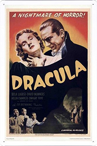 Movie Poster Home Theater Decor Metal Tin Sign Wall Art by Masterpiece Collection 20*30cm (OIL-MFA0545) by Masterpiece Collection