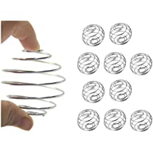 Rabbito 10pcs Milkshake Protein Blender,Wire Mixer Mixing Ball For Shaker,Replacement Wire Whisk