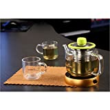 Portable Electric Desktop Coffee Warmer Tea Coffee Milk Heater Cup Mug Warmer Warming Trays (Golden)