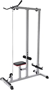 Tengma Home Gym Body LAT Pull Down Machine Low Bar Cable Fitness Training Weigh Sports Equipment