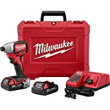 "Milwaukee 2750-22CT M18 1/4"" Hex Brushless Impact"