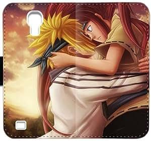 Naruto Shippuden Gxx K8A1L Funda Samsung Galaxy S4 carpeta del cuero Funda Caso duro plástico j015r2 funda caja del teléfono celular del tirón