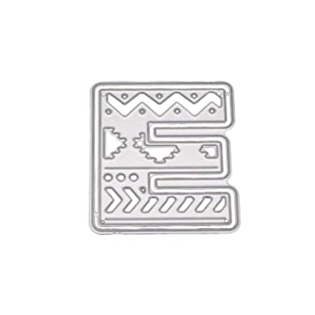 Beginfu Metall Stahl 26 Große Große Alphabet Buchstaben