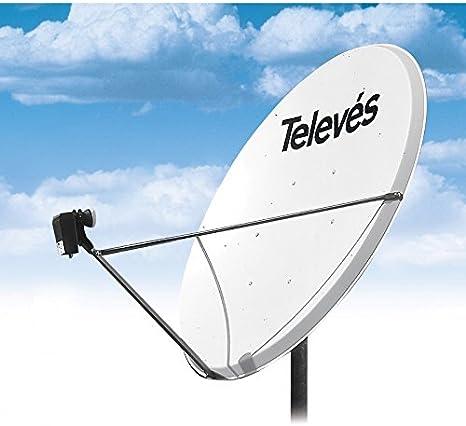 Televes - Antena parabólica (130 cm, 7575 W): Amazon.es: Hogar