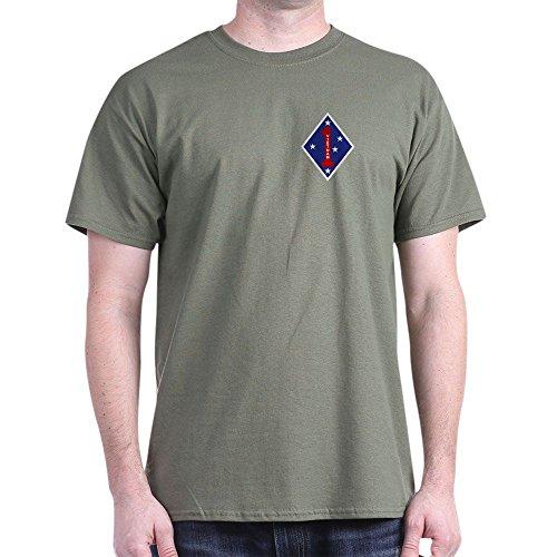 3rd Battalion 7th Marine Regiment - CafePress 1St Marine Division T-Shirt (Dark) - 100% Cotton T-Shirt