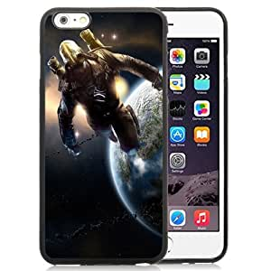 New Beautiful Custom Designed Cover Case For iPhone 6 Plus 5.5 Inch With Spaceman Art Phone Case