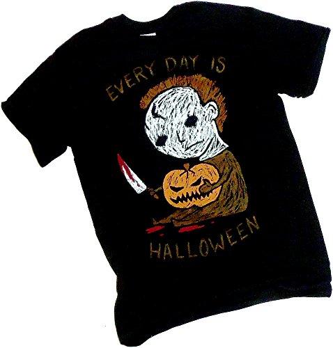 Halloween Movie -- Every Day Halloween - Michael Myers -- Adult T-Shirt, (Halloween Everyday)