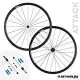 Reynolds Cycling Attack Rim Brake Carbon Fiber Wheelset for Road Bikes, Shimano Compatible