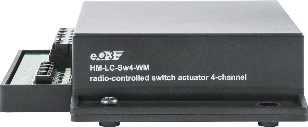 eQ-3 HM-LC-Sw4-WM Accesorio para termostatos Negro