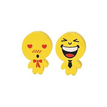 Smiley Gomme Mini Mignon Gomme Dessin Animé Kawaii Pour