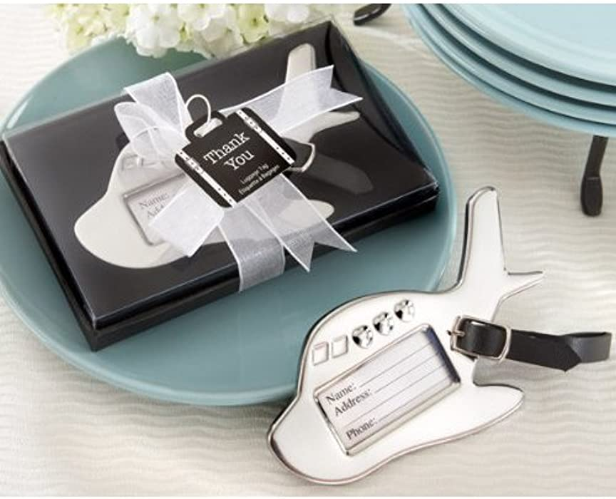 ae91929af180 Amazon.com | Airplane Luggage Tag in Gift Box with Suitcase Tag ...