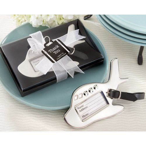 Airplane Luggage Tag in Gift Box with Suitcase Tag (pack of 30) by