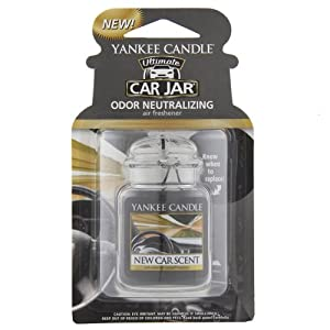Yankee Candle 1220940 New Car Scent Ultimate Car Jar Air Freshener