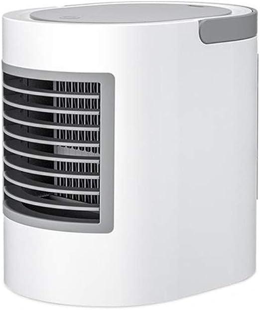 QHGao Ventilador De Aire Acondicionado Portátil para Un ...