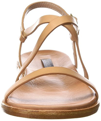 Neosens S946 Restored Skin Wood Aurora, Sandalias con Punta Abierta para Mujer Beige (Wood)