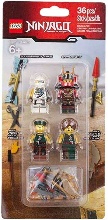 Lego NINJAGO FIGURE ACCESSORIES 2 Chain with 5 links chain in new democracy Grey