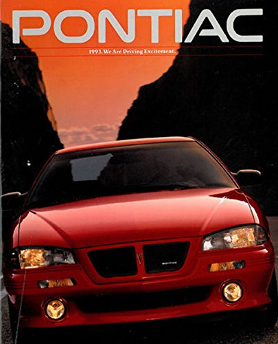 1993 PONTIAC DEALERSHIP SALES BROCHURE - INCLUDES; Grand Am, Grand Prix, Bonneville, Sunbird, Trans Sport, LeMans - ADVERTISEMENT - LITERATURE