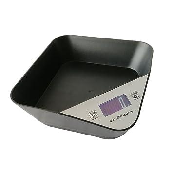 Honor Jojoba Báscula Digital para Cocina Báscula Electrónica de Cocina Báscula de Alimentos(Negro): Amazon.es: Hogar