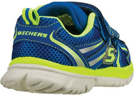 Skechers SpeedeesBurn Outs - Zapatillas para niños Blue/Green