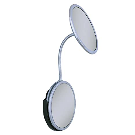 Zadro Triple Vision Gooseneck Vanity And Wall Mount Mirror, Chrome Finish by Zadro