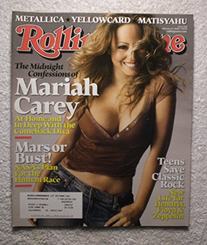 Mariah Carey Rolling Stone (Mariah Carey - Rolling Stone Magazine - #994 - February 23, 2006)