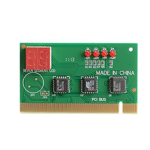 Generic 2 Digit PC PCI Diagnostic Card Motherboard Analyzer Tester Post for Desktop