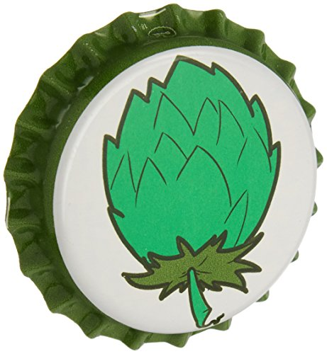 Beer Bottle Crown Caps - Oxygen Absorbing for Homebrew (Hop Cone)