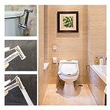 CO-Z Brass Bidet Toilet Sprayer Chrome