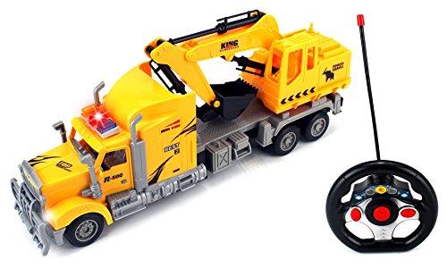 Velocity Toys Max Construction Semi Excavator Remote Cont...