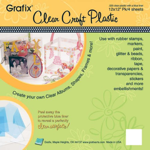 - Clear .020 - Craft Plastic Sheets 12