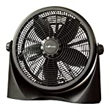 Homevision Technology CT4005G 16'' High Velocity Air Circulator, Black