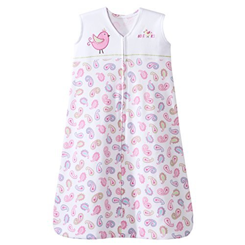 : Halo SleepSack Cotton TOG 0.5 Pink Pretty Paisley