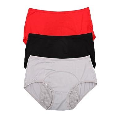 6e399cb8705 Bamboo Viscose Fiber Brief Menstrual Leakproof Panties Multi Pack US Size  XXS-3XL 10