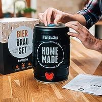BrewBarrel Kit Todo incluído para elaborar Cerveza Lager en Casa - Producto de Alemania - Disfruta tu Cerveza en sólo 7 días: Amazon.es: Hogar