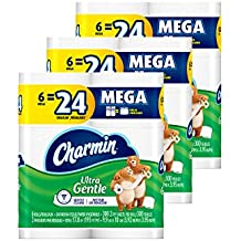 Charmin Ultra Gentle Toilet Paper, 18 Count