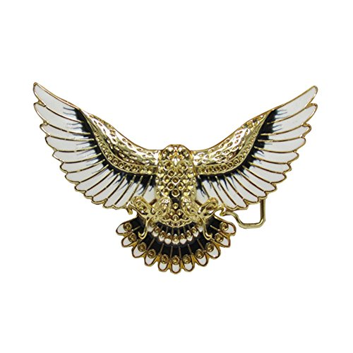 E-Clover Adult Country Soaring Eagle Buckle Cowboy Western Belt Buckle (Style3)