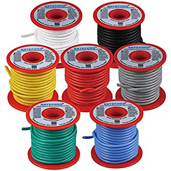 Bntechgo 14 Gauge Silicone Wire Soft And Flexible High