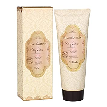 Amazon.com : Beau Jardin Rose & Geranium Body Lotion 250ml : Beauty