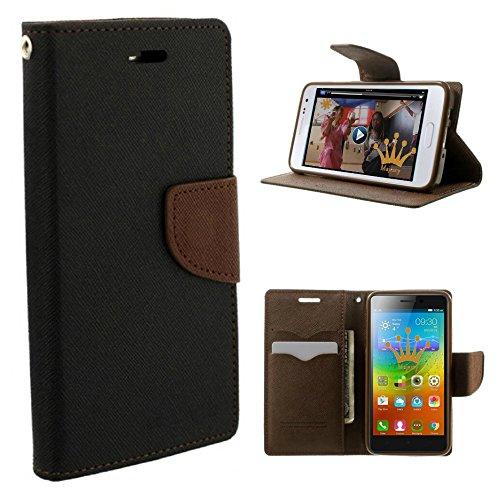 NewBreed Flip Cover Wallet Case for Xiaomi Redmi Note 3  Red Mi Note3