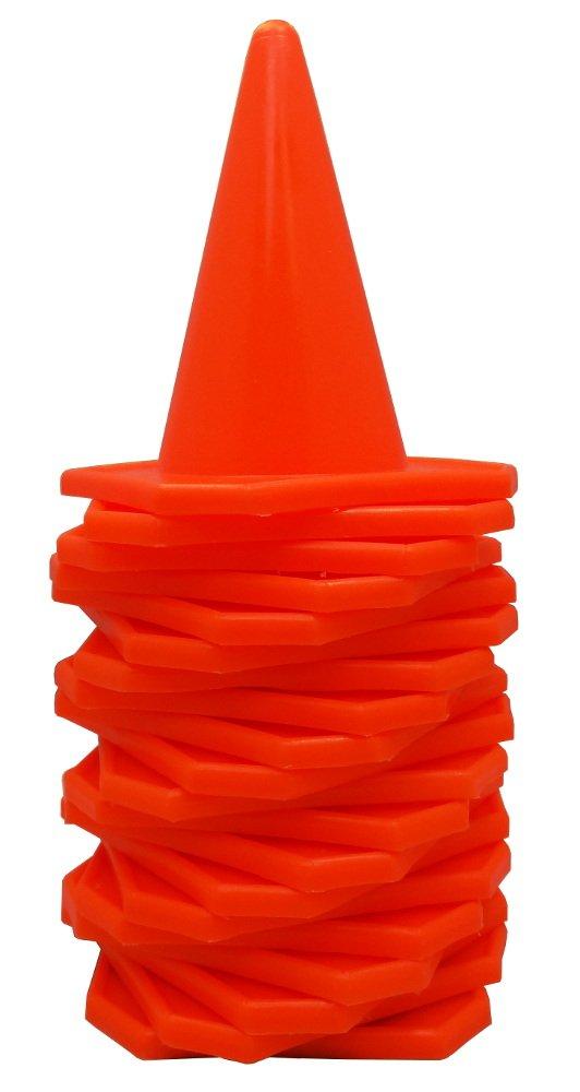 BlueDot Trading 4'' RC Racing Agility Cones, Orange  - Set of 20