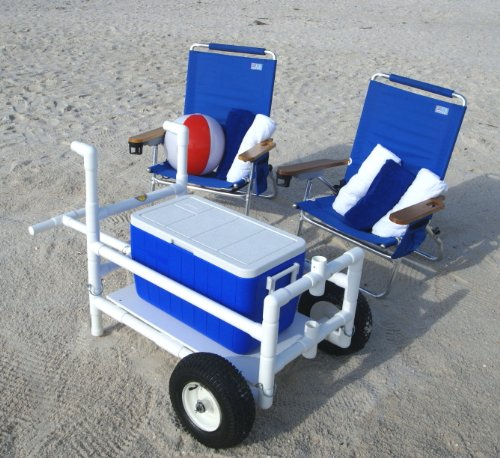 Pvc beach cart plans the best cart for Pvc fishing cart